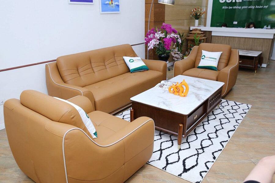 Ghế Sofa Văn Phòng Theo Bộ