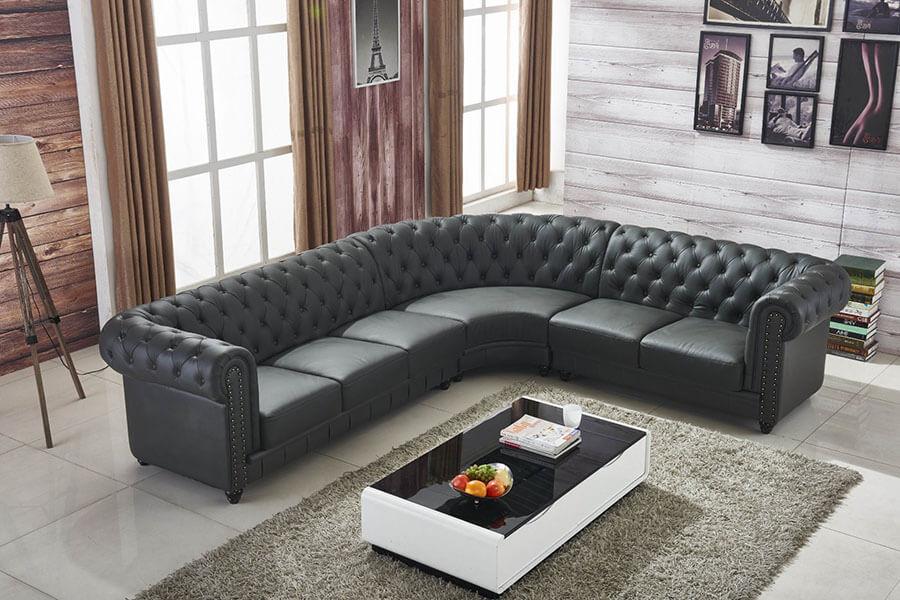 Những Mấu Sofa Góc Chữ L Hiện Đại