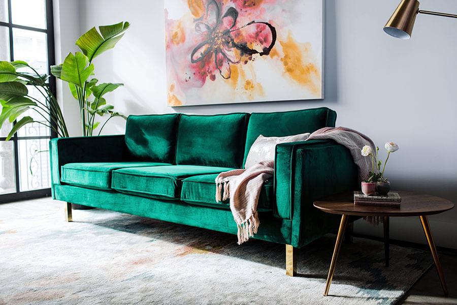 Cách Phối Màu Sofa