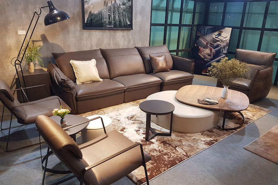 chăm sóc ghế sofa da cao cấp