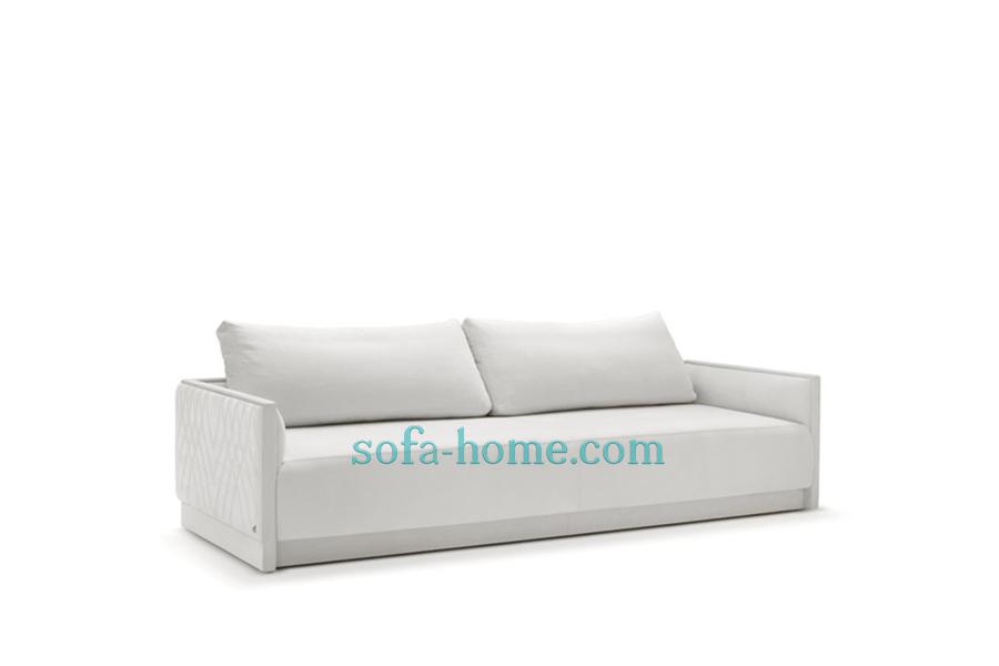 Ghế Sofa Da Cao Cấp Beautyful In White