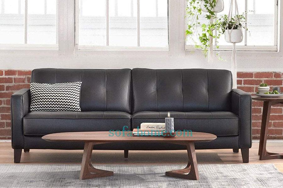 Ghế Sofa Da Hiện Đại Gregata