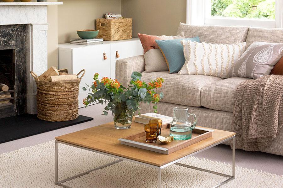 Sofa Màu Trung Tính Cách Phối Màu Sofa