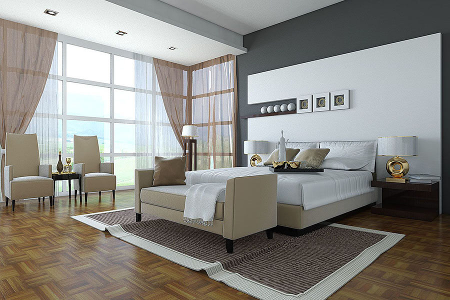 Sofa Phòng Ngủ đặt Cuối Giường
