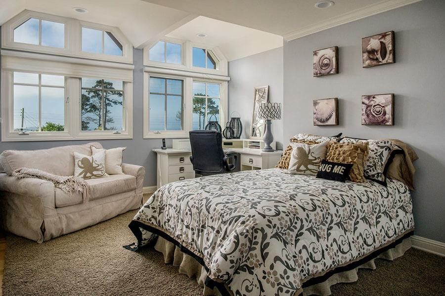 Sofa Phòng Ngủ Hiện đại Gần Cửa Sổ