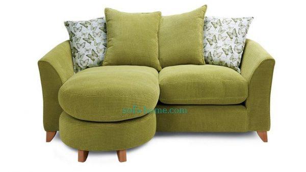 Ghế Sofa Góc Nỉ Tabitha