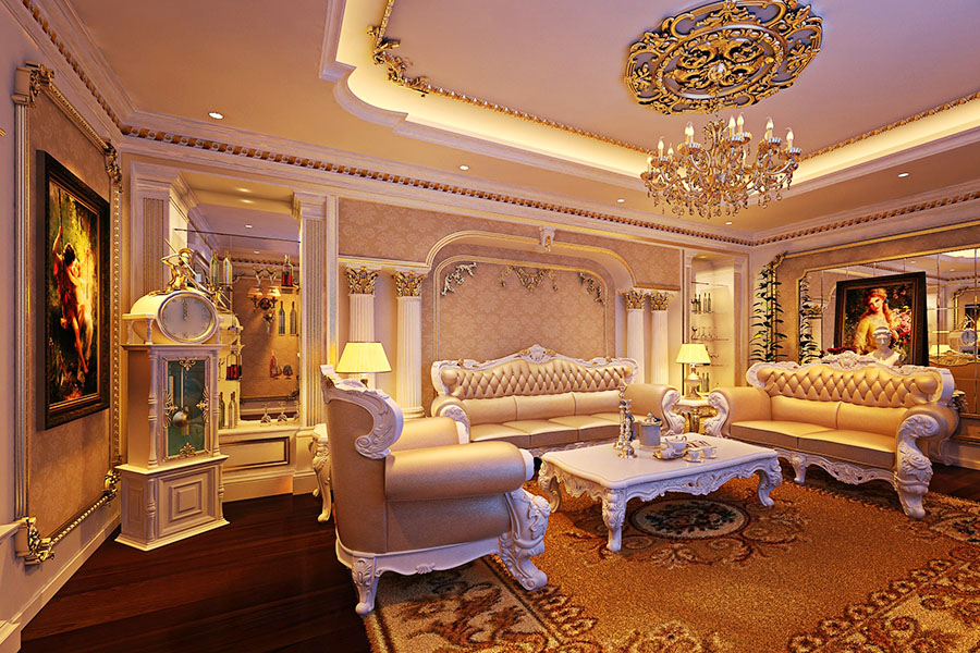 Cách chọn sofa phòng khách cho biệt thự