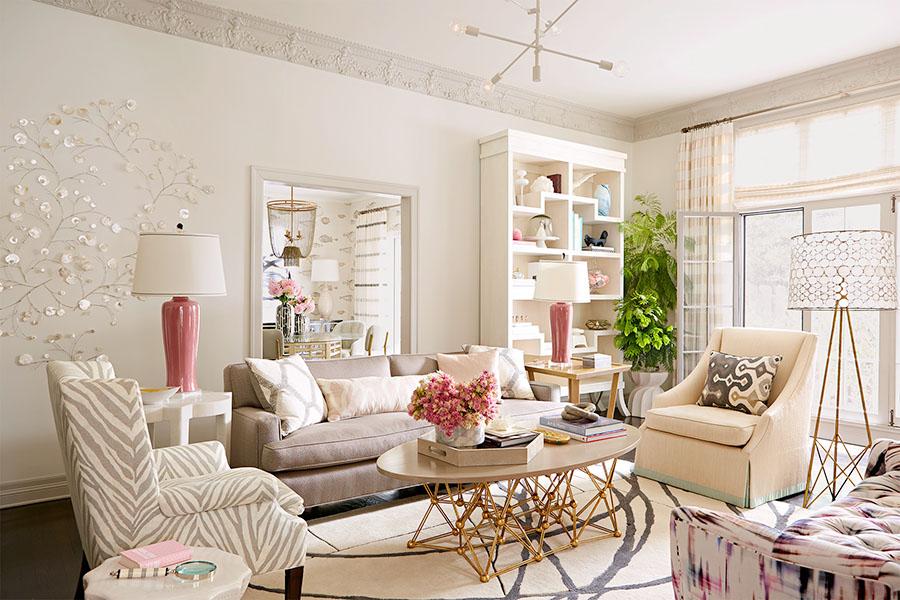 cách lựa chọn sofa phòng khách theo màu