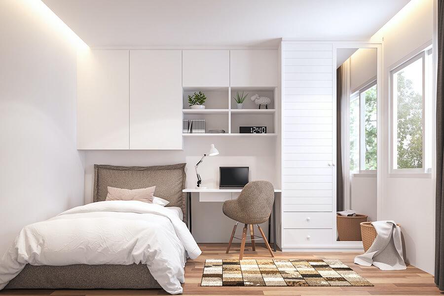 chọn màu nội thất phòng ngủ