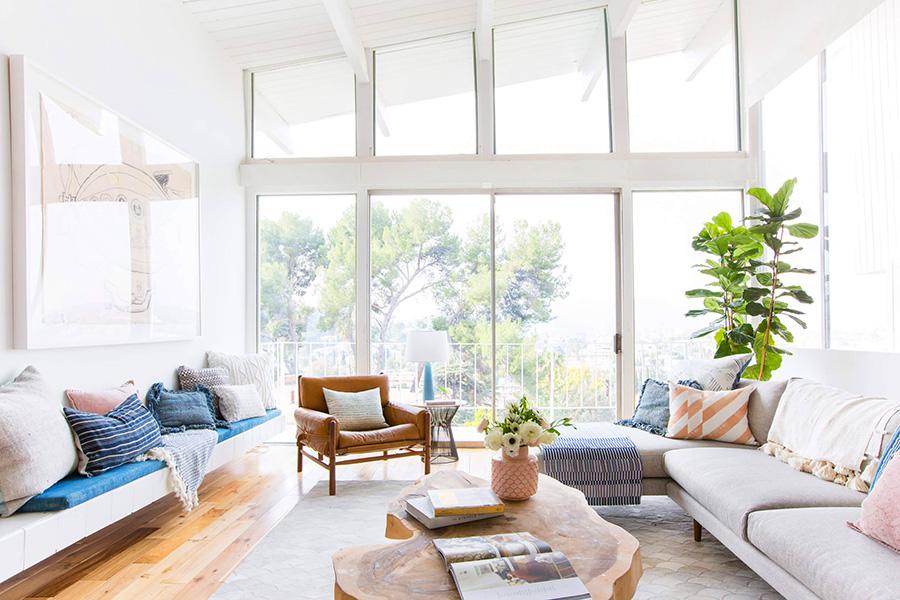 chọn sofa phòng khách phù hợp từng kiểu nhà