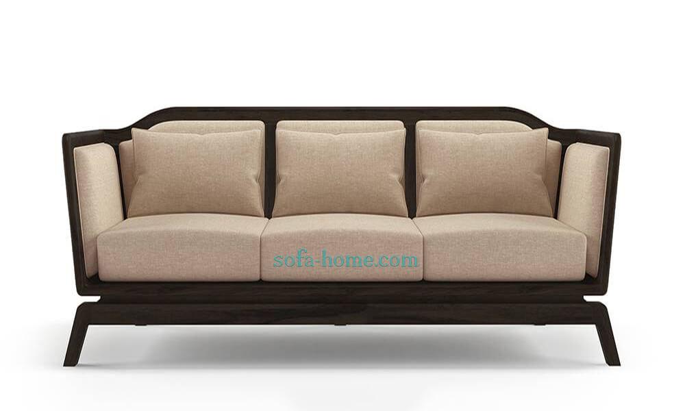 Ghế Sofa Gỗ Nỉ Satori