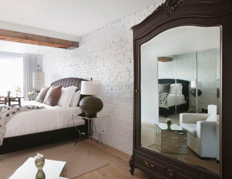 gương nội thất phòng ngủ nhỏ