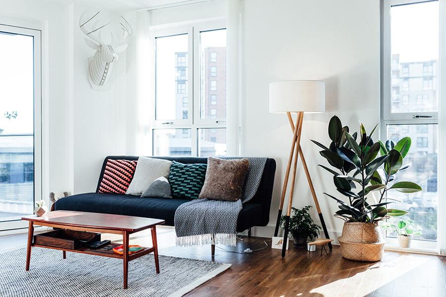 kinh nghiệm chọn sofa phòng khách nhỏ