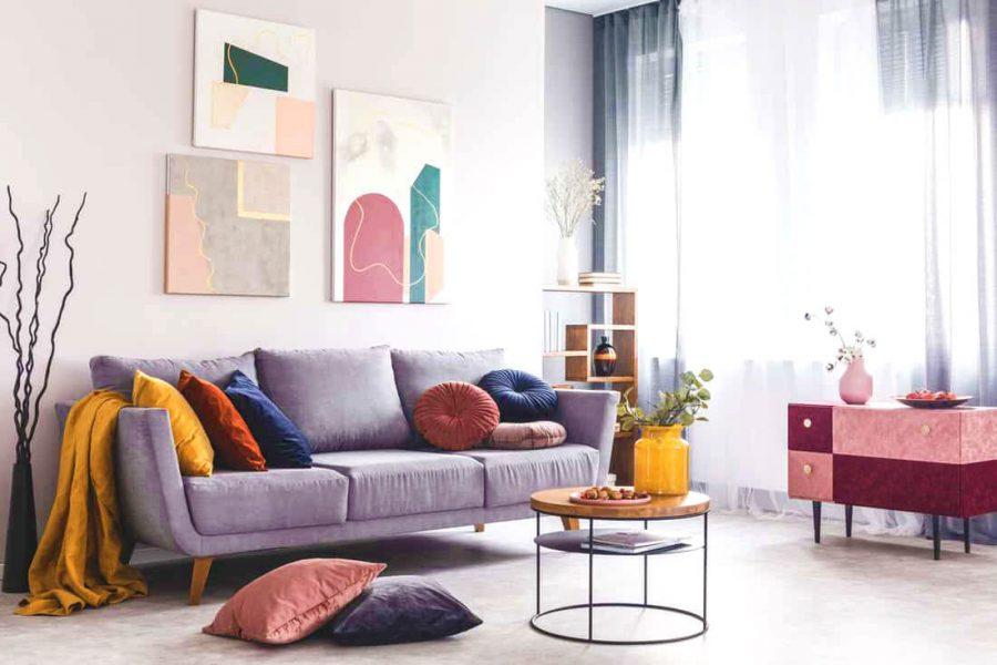 Màu Sắc Trong Lựa Chọn Sofa Chung Cư