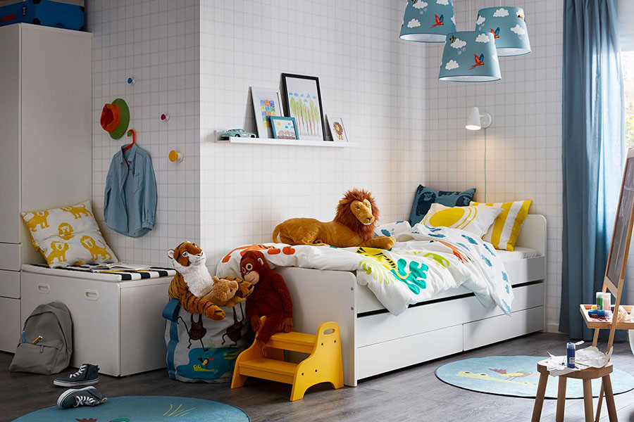 cách thiết kế phòng ngủ cho trẻ em