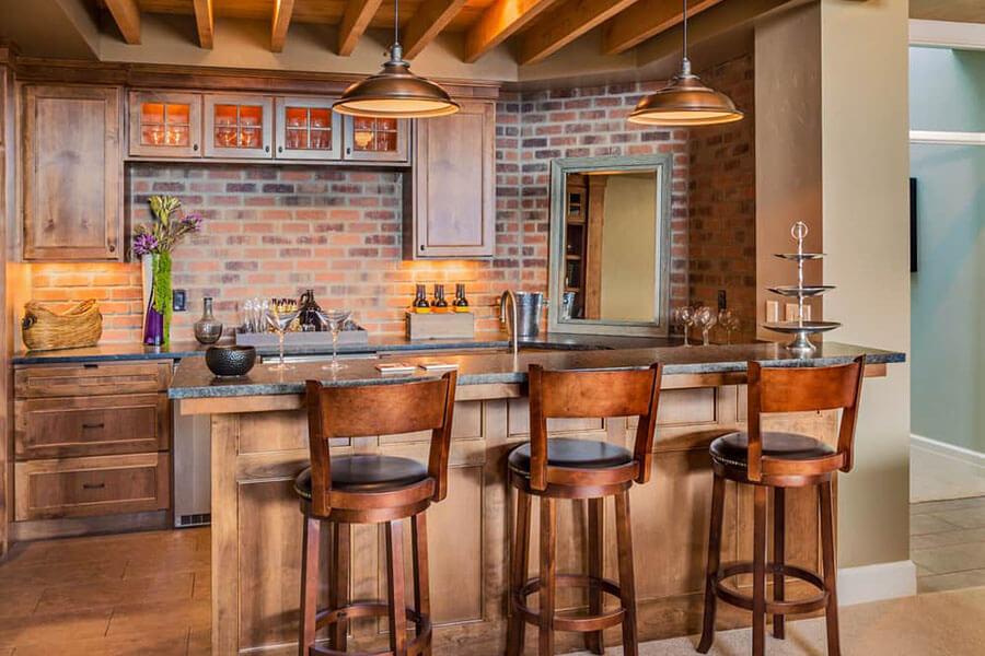 cách thiết kế quầy bar mini tại nhà