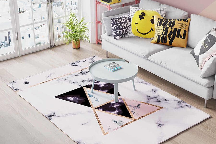 chọn thảm sofa
