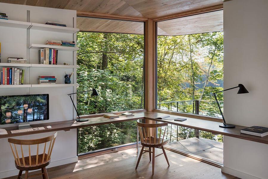 mẫu thiết kế phòng làm việc tại nhà