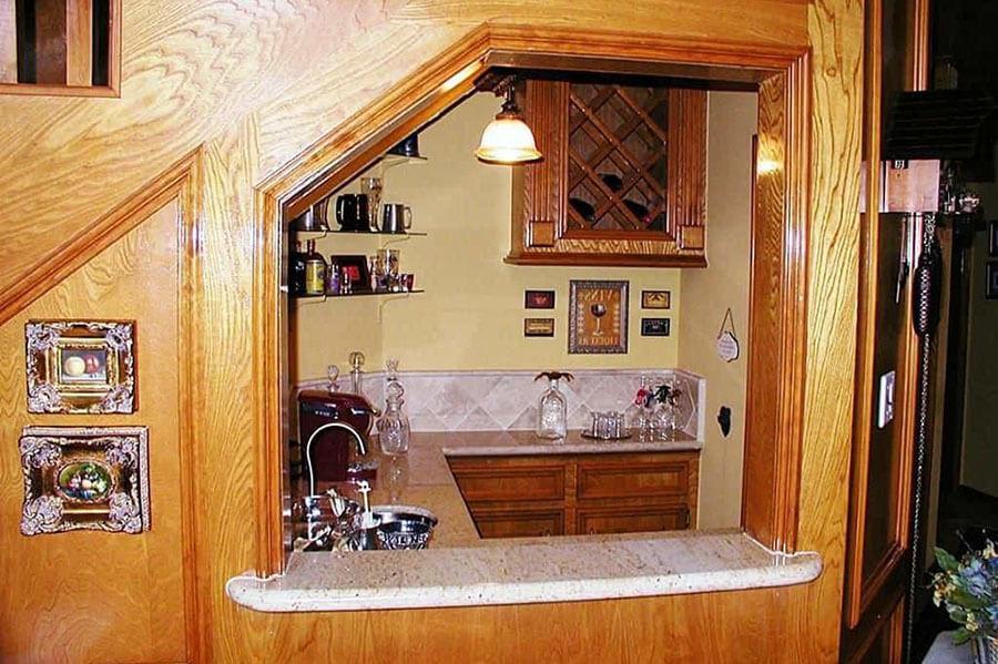 mẫu thiết kế quầy bar gia đình tại nhà