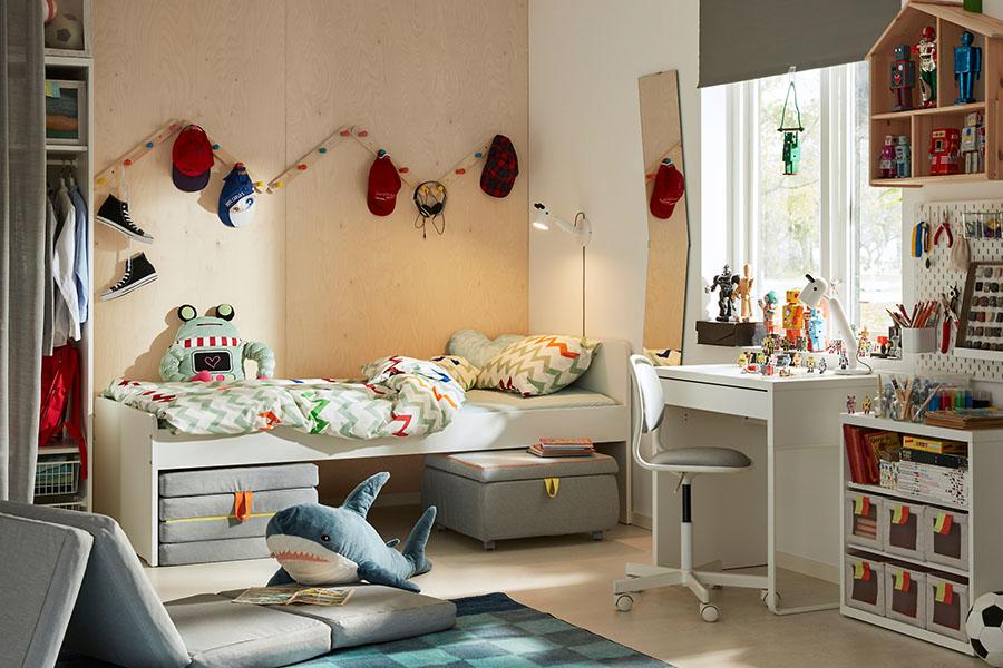 thiết kế không gian phòng ngủ cho trẻ