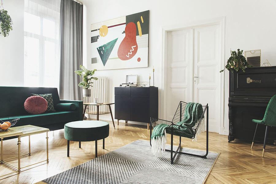 trang trí phòng khách đẹp theo phong thủy