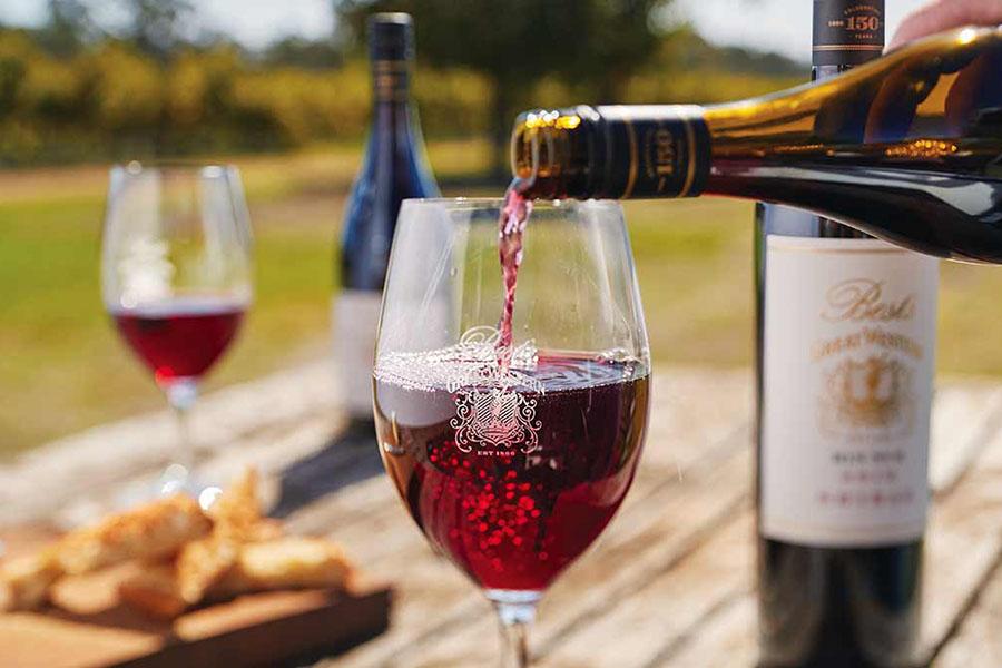 cách phân biệt rượu vang đỏ