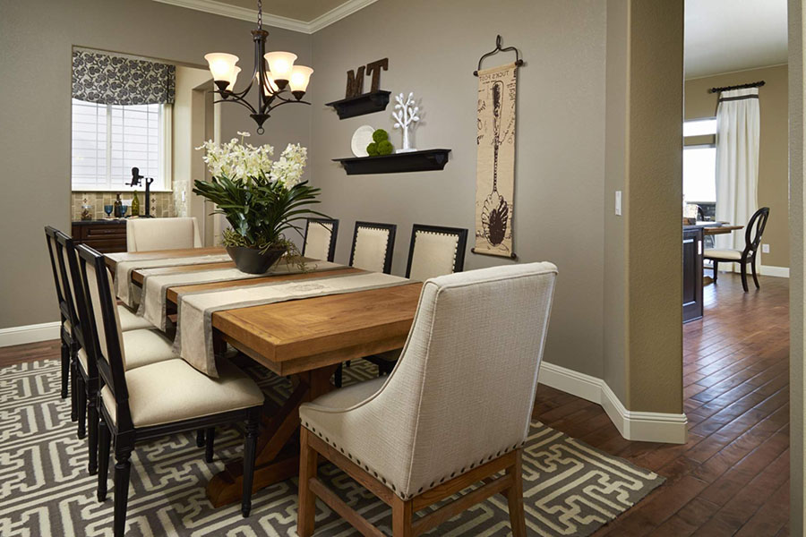 trang trí nội thất phòng ăn