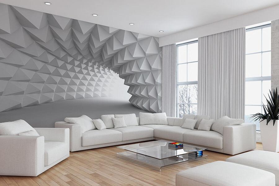 trang trí tường phòng khách đẹp nhất